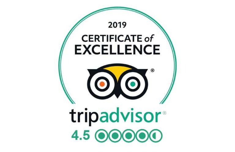 Swanley Park TripAdvisor Award